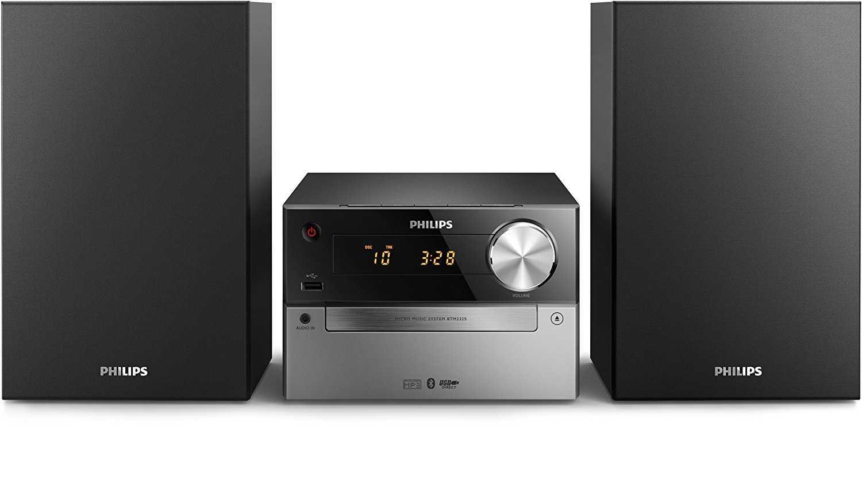philips btm2325 mini kette hifi bluetooth mit cd player radio fm usb wecker einfach zu verwenden fuer kinder fuer 7801 e statt 10698 e