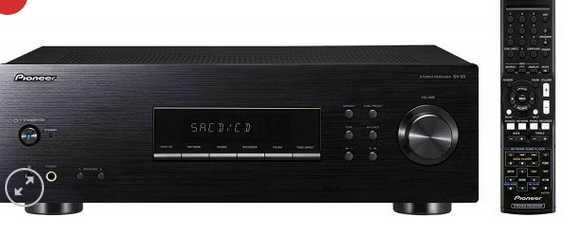 pioneer sx 20 k stereo receiver schwarz 200 w mit ukwmw tuner und phono eingang fuer 129e statt 15488e