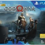 Playstation 4 Slim 1TB + 2. Controller + God of War für 299,-€