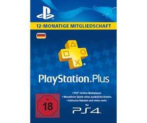 playstation plus 12 monate mitgliedschaft fuer 4499e statt 52e