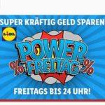 Power-Freitag-Sale bei Lidl + 5€ Gutschein & VSK-frei, z.B. Güde Rasenmäher