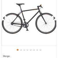 prophete singlespeed bike 28 belt drive 36454e anstatt 40499e bei plus