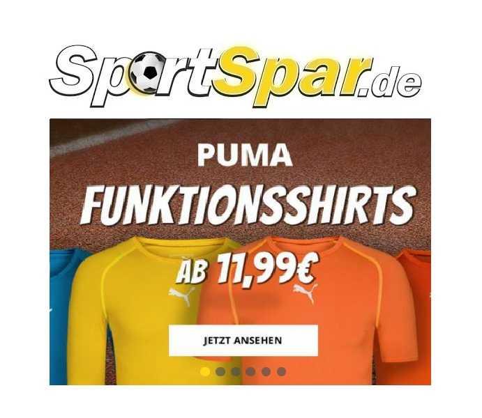 puma funktionsshirts lang od kurzarm ab 1594e inkl versand statt 3490e