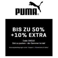 puma sale artikel bis zu 50 reduziert 10 extra rabatt