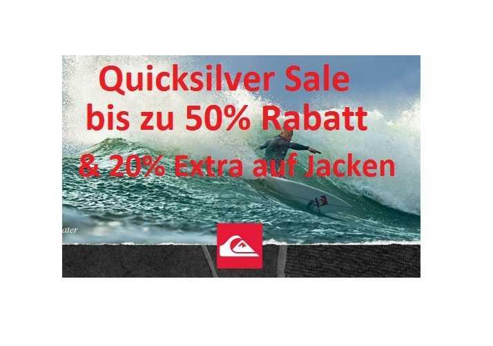 quicksilver sale mit bis zu 50 rabatt 20 extra rabatt auf bereits reduzierte jacken 2