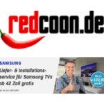 """Gratis Liefer-/Installationsservice für Samsung TVs ab 42"""" bei Redcoon"""