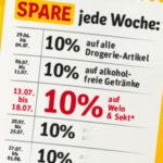 REWE Mehr-Spar-Plan - Jede Woche 10% sparen auf ausgewählte Sortimente