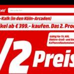 [Lokal Köln] Rosenmontag: 2. Artikel zum 1/2 Preis im Mediamarkt Köln