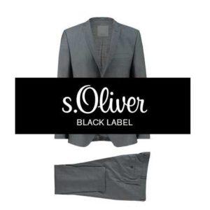 Neueste Mode das Neueste Bestellung s.Oliver Black Label: Herren Anzug