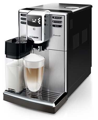 saeco hd891701 incanto kaffeevollautomat 1850 watt aquaclean integrierte milchkaraffe fuer 444e statt 549e 1