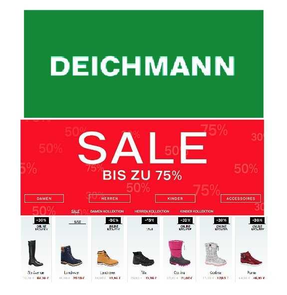Sale Zu Jetzt Bei DeichmannSchuhe Bis 75ReduziertMytopdeals ybgYf76v