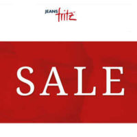 sale bei jeans fritz 20 on top
