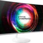 "Samsung C32H711Q Curved LED-Monitor - 32"", VA-Panel, WQHD, AMD FreeSync"