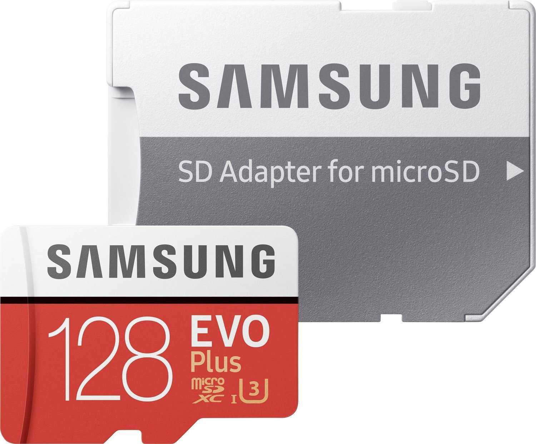 samsung evo plus 2017 microsdxc 128gb fuer 3599e