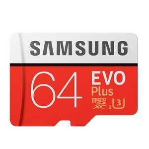 samsung evo plus micro sdxc 64gb bis zu 100mbs class 10 u3 inkl sd adapter fuer 15 e inkl versand statt 1810e