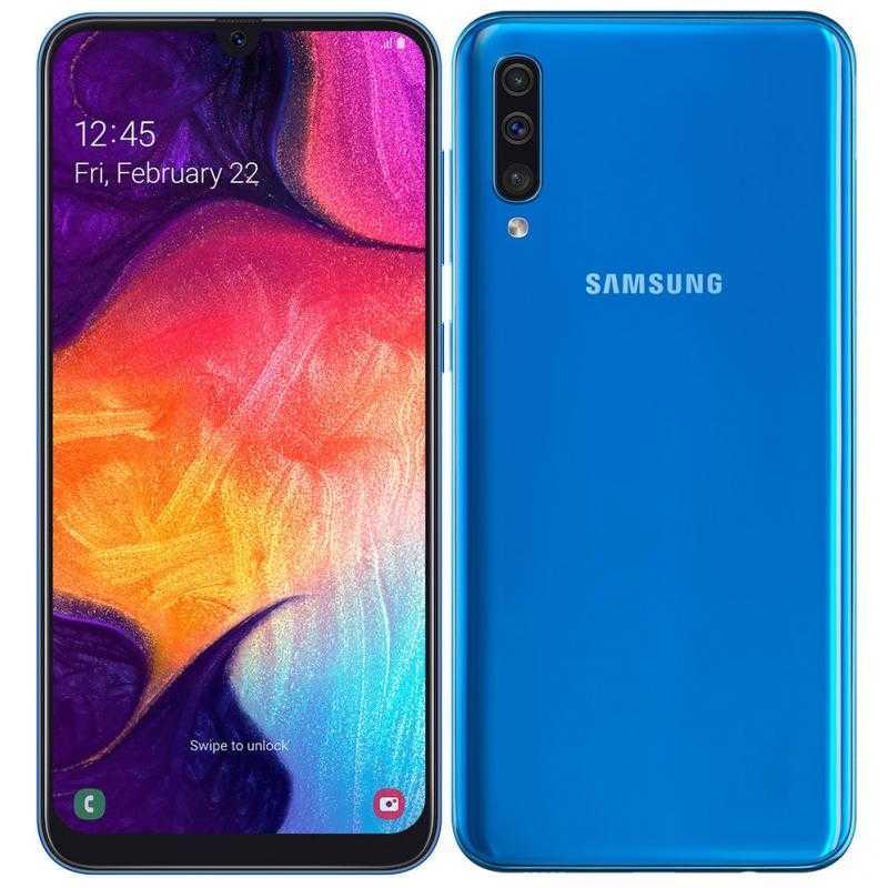 samsung galaxy a50 a505f 128gb dual sim blau