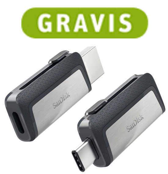 sandisk ultra dual drive 128 gb flash speicher stick mit usb cusb 3 1 fuer 3333 e statt 3776 e