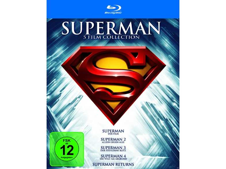 saturn superman 1 5 die spielfilm collection blu ray