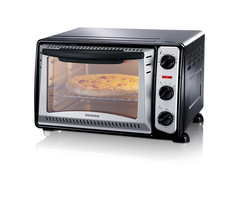 severin to 2034 toastofen 1500 watt 20 liter schwarzsilber bei amazon prime