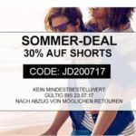Jeans Direct: 30% Rabatt auf alle Shorts!