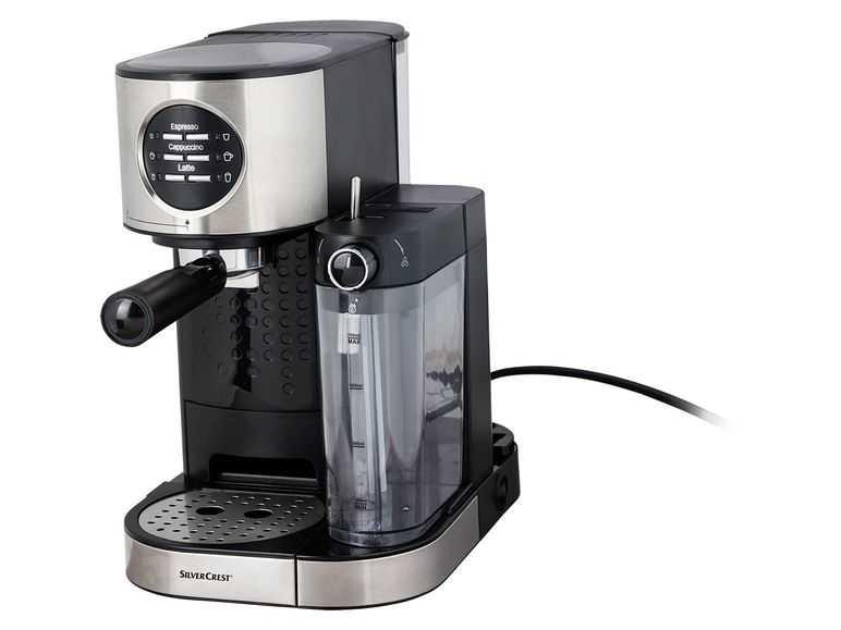 silvercrest espressomaschine mit milchaufschaeumer semm 1470 a1
