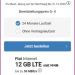 simplytel 12GB LTE Allnet-Flat mit EU-Flat für 12,99€ (auch ohne Mindestvertragslaufzeit)