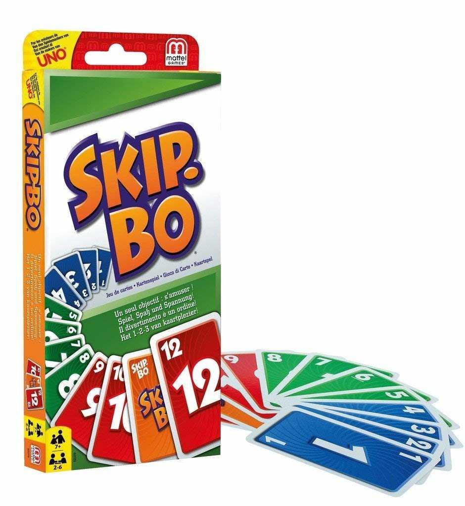 skip bo kartenspiel von mattel bei real online