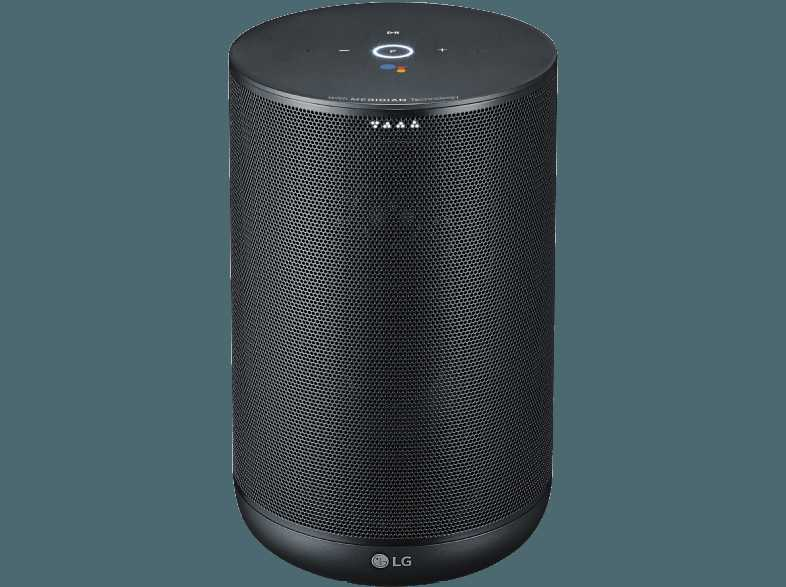 smart speaker lg wk7 mit google assistant