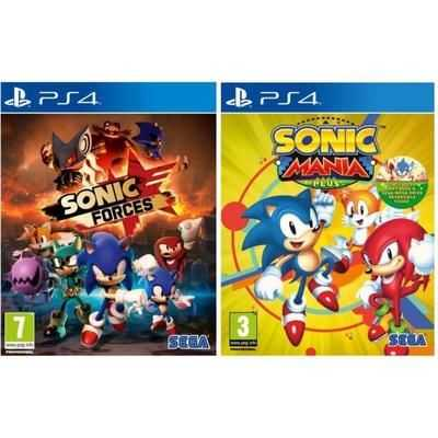 sonic double pack jeu ps4