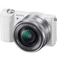sony alpha 5100 kit systemkamera mit objektiv 16 50 mm weiss fuer 38575e statt 470e 1
