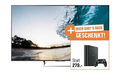 sony kd 65xe8505 164 cm 65 zoll uhd 4k smart tv led tv sony playstation 4 slim 500gb fuer 1299e statt 167644e