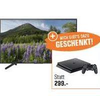 sony kd 65xf7005 164 cm 65 zoll uhd 4k smart tv led tv sony playstation 4 500 gb fuer 1199e statt 1486e