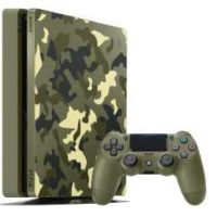 sony playstation 4 1tb green camouflage call of duty wwii ltd edition fuer 288e statt 340e
