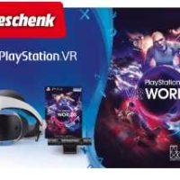 sony playstation vr v2 camera vr worlds voucher geschenk fuer 299e statt 335e