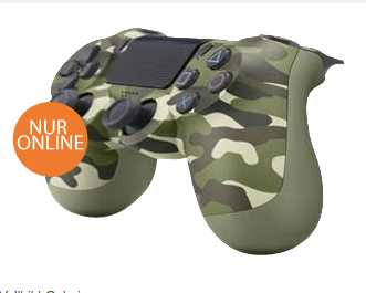 sony ps4 wireless ds controller camouflage v2 boxed controller fuer 4999e inkl versand statt 5770e 1