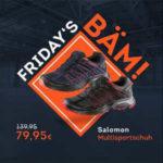 SportScheck: Fridays Bäm, z.B. Salomon Multisportschuhe