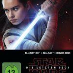 Star Wars: Episode VIII - Die letzten Jedi - Steelbook (+ Blu-ray 2D + Bonus-Blu-ray) Limited Edition