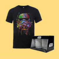 star wars glaeser t shirt im bundle fuer 2048e