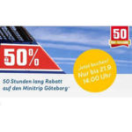 Stenaline: 50%Rabatt auf Minitrip nach Göteborg