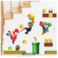 super mario wallsticker fuer 135e