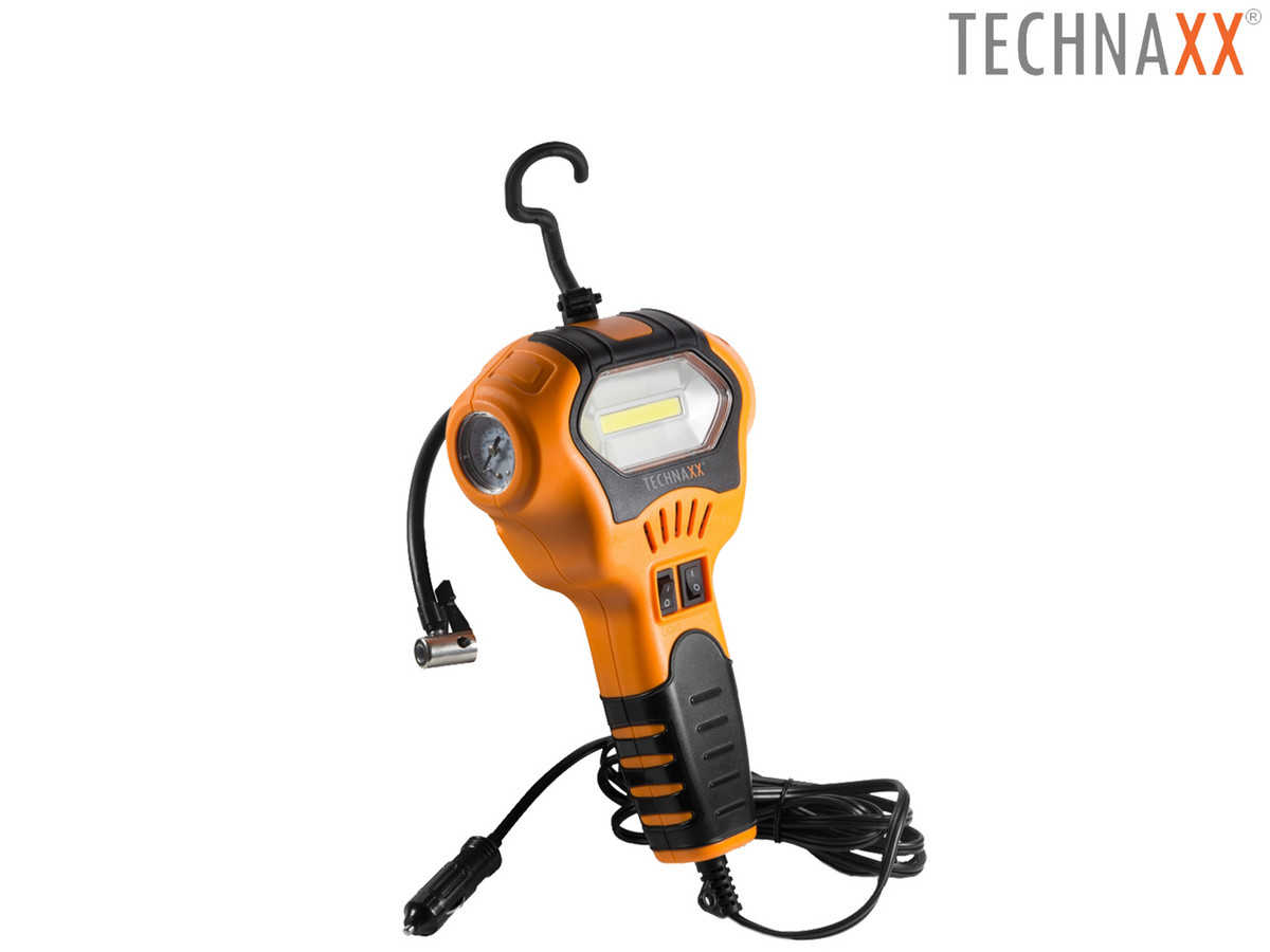 technaxx tragbarer luftkompressor