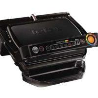 tefal gc 7128 optigrill kontaktgrill elektrogrill 2000w 6 grillprogramme fuer 9550e statt 133e