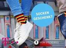 telekom mega deal gratis 1 paar von floerke socken in schwarz rot gold 2