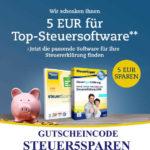 Thalia: 5 Euro Gutschein für Steuersoftware