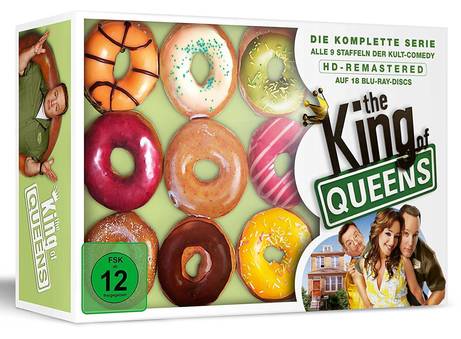 the king of queens hd gesamtbox donut edition exklusiv bei amazon