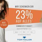 Tom Tailor – 23% auf alles