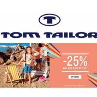 tom tailor 25 rabatt auf kindermode 1