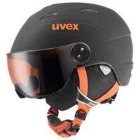 uvex junior visor pro farbe black orange