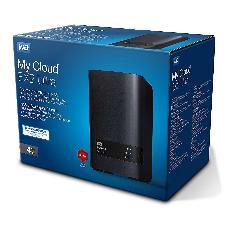 wd my cloud ex2 ultra 2 bay nas festplatte 4tb netzwerk speicher amazon fuer 21120e statt 25961e
