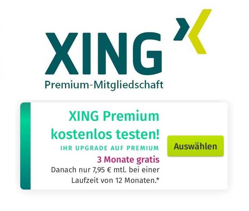 Xing premium free trial